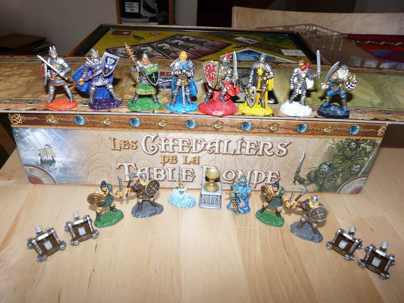 jeu avec figurines chevaliers de la table ronde www mini hobby fr